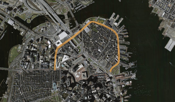 Connect Historic Boston Map