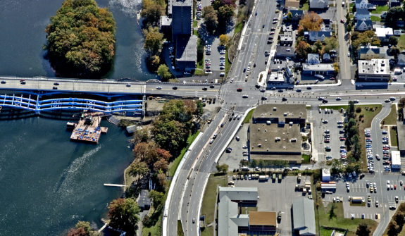 Burns Bridge Aerial