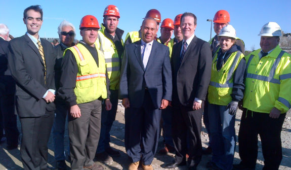 Fore River Bridge Ground Breaking