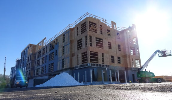 This Six Acre Development Project In Revere Is On Track For Completion The Spring Of 2019 With 200 Multi Family Housing Units A Five Story Hotel